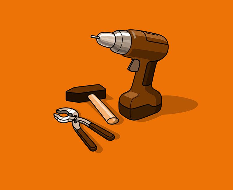 Suche Steinmetzwerkzeuge